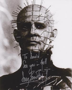 Doug Bradley autograph