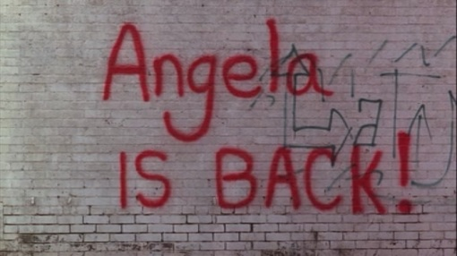 Angela is back