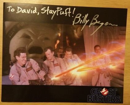 Ghostbusters autograph